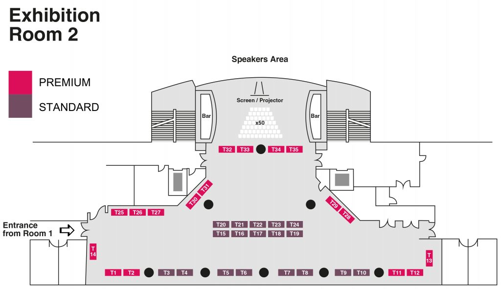 BBE 2020 Floor Plan (Exhibition Room 2)